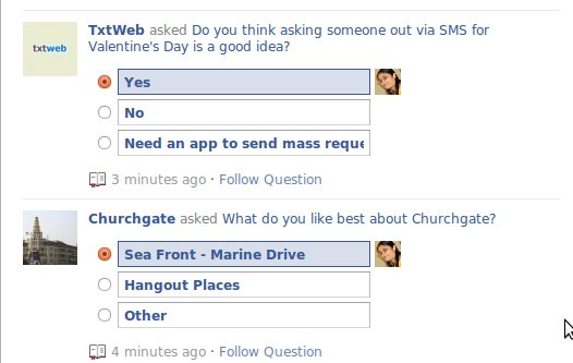 Facebook Questions - Quora-zition of FB - Priyanka Writing